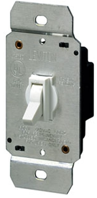 Dimmer Toggle Incandescent