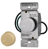 Dimmer Preset Rotary Ivory/Wht