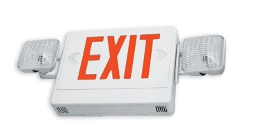 Exit/Emerg Combo Red Led