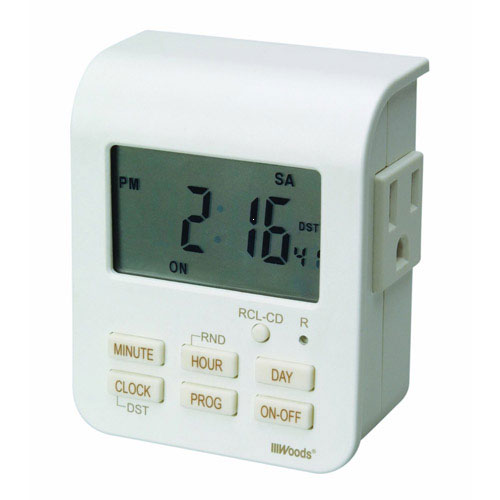 Timers: Electric, Digital Programmable