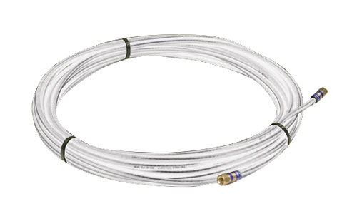 Coaxial Cable 3' Rg6 White