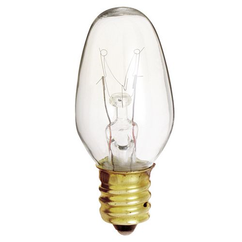 Night Bulb 4w C7 Clear 4cd