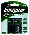 Battery C Rechargeable 2/Cd