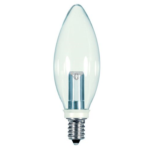 Bulb Led 1w Cand Clear Warmwh