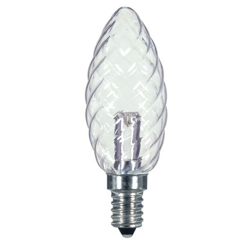 Bulb Led 1w Cand Crystal Warm