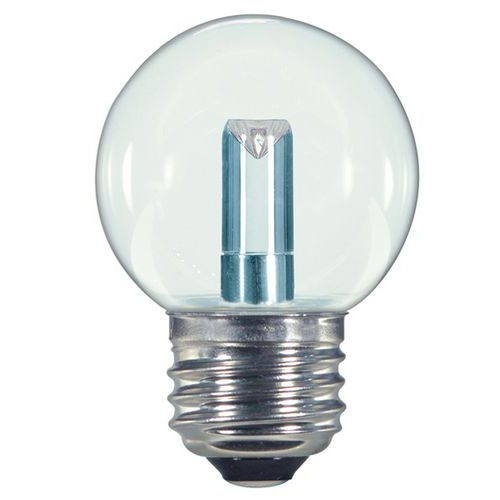 Bulb Led 1.4w G16-1/2 Clear Ww