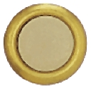 Button Lighted Gold Rim