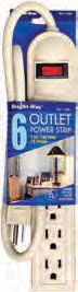 Power Strip 6 Outlet