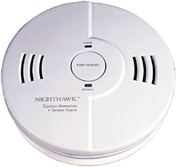 Smoke Detector +co Battery Pwr