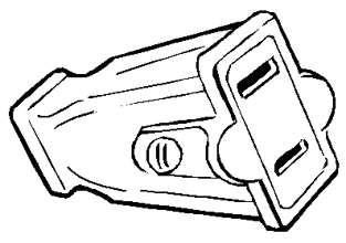 Connector 2-Wire Light-Dty
