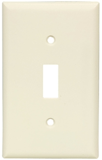 Wall Plates: Switch, 1-Gang