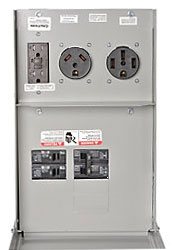 Outlet 30&20a Breakrd Rv Power