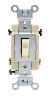 Switches: Toggle, Commercial, 4-Way