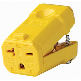 Plugs & Connectors: 20a, 3-Wire
