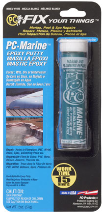 Marine Restoration: Epoxy Repair Products