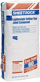 Wall Compounds: Joint, Drywall