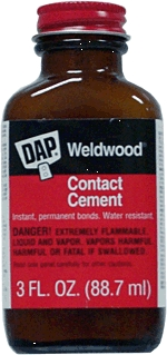 Glues: Contact Cements