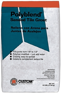 Adhesives: Tile Grouting