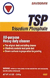Surface Prep: Tsp, Wall Cleaners