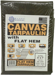 Tarp Handy 5x7' Canvas
