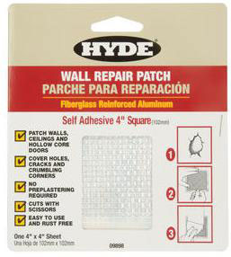Wall Compounds: Patch And Repair Kits