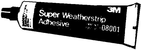 Auto Compounds: Weatherstrip Adhesive