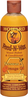 Feed & Wax Wood Polish &