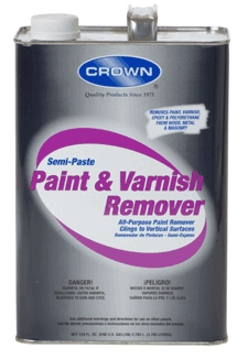 Removers: Paint, Varnish, Paste