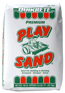 Concrete Mixes: Sand Mix, Play Sand