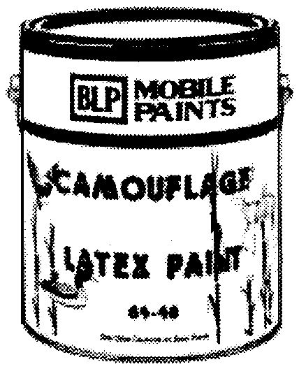 Paint: Exterior, Camouflage