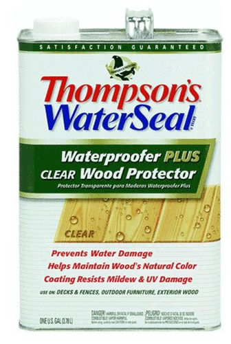 Sealers: Waterproofers