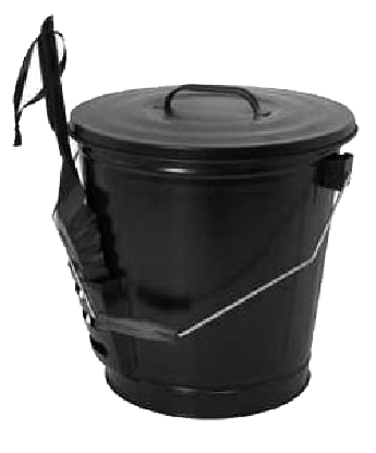 Bucket Ash With Shovel