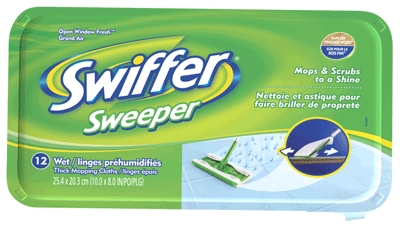Swiffer Wet Refill 12-Ct