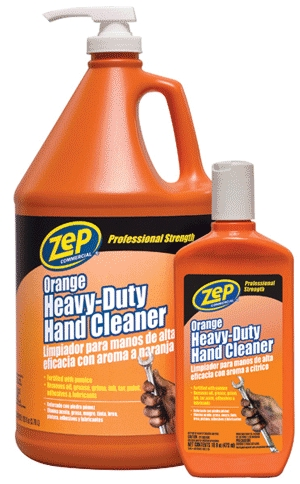 Hand Cleaner 16 Oz Zep Orange