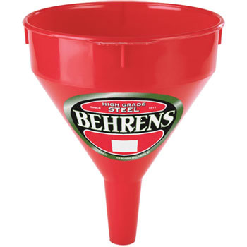Funnel 2-Qt Red Poly