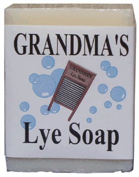 Soap Bar Lye Grandma's 6 Oz