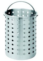 Aluminum Basket 30qt Perforate