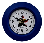 Wall Clock Usa Star & Eagle