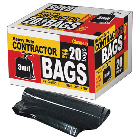 Contractor Bag 42gl 3mil 20bx