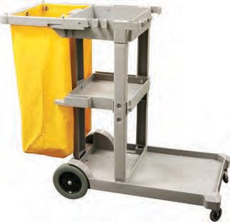 Service Cart Clean/Jan. Gray