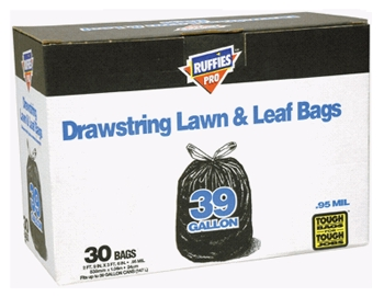 Lawn/Leaf Bag 39gl D/S 30bx