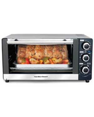 Toaster Oven/Broiler 6-Slice