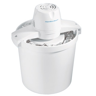 Ice Cream Maker 4-Qt Electric