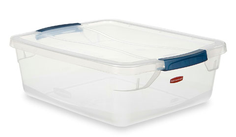 Storage Box 15-Qt Clever Store