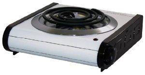 Hotplates: Electric, Single, Double Burner
