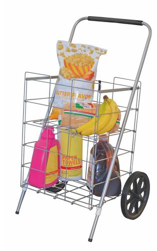 Cart 2wheel Folding W/Shelf