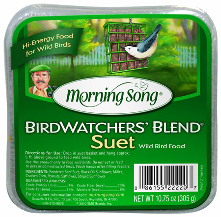 Suet Cake Birdwatcher Blend Ms