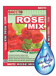 Planting Mix Baccto Rose Mix