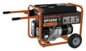 5500w Gp Series Port Generator
