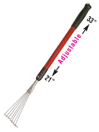 "Rake 32"" Telescopic Flex"